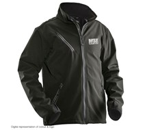 BandofBuilders Logo SOFTSHELL Adult, Black