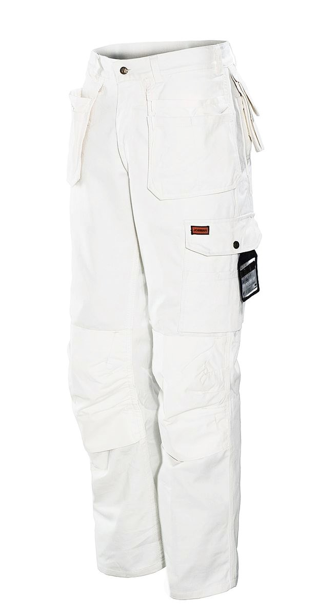 2159-11 PAINTERS' WHITE LINE TROUSER