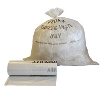 NHS CLEAR SACKS,FLO536 (7x50)