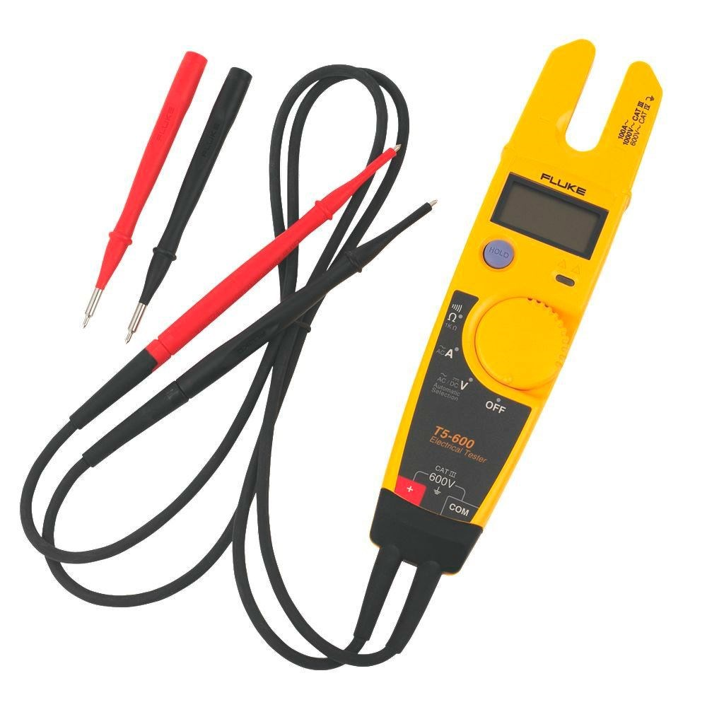 fluke continuity tester t5 600 o Electrical Voltage Tester Wiggy Electric Circuit Tester Light