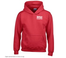 BandofBuilders Logo HOODY Kids, Red