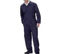 SUPERCLICKWORKWEAR ZIP FRONT COVERALL